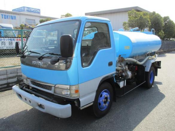 4200L 散水車 サブエンジン式