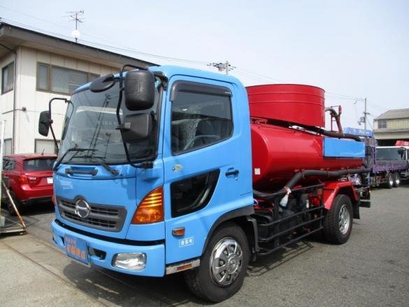 増トン 5700L バキュームカー