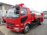 増々トン 消防車(高圧洗浄・放水タンク車)